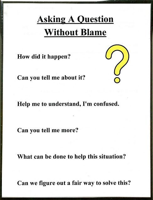 Lorinda-Character Education: Be a Detective & Asking A ? Without Blame; Conflict Resolution 4.