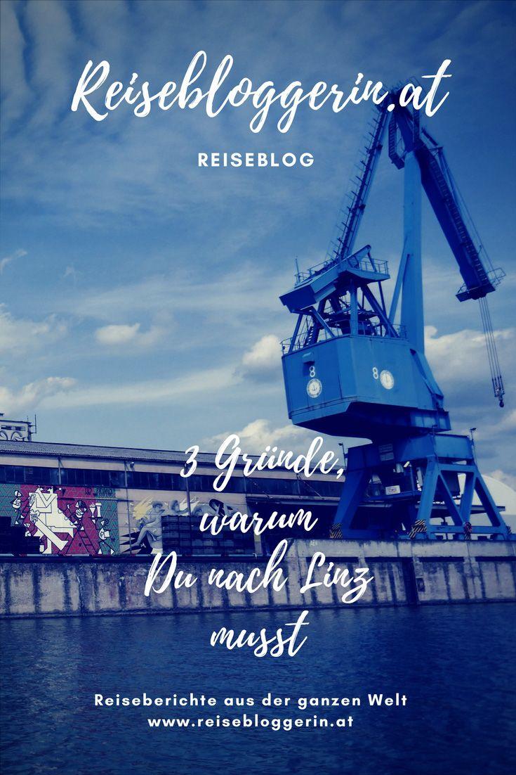 3 Gründe, warum Du nach Linz musst #streetart #muralharbor #linz #visitlinz #upperaustria