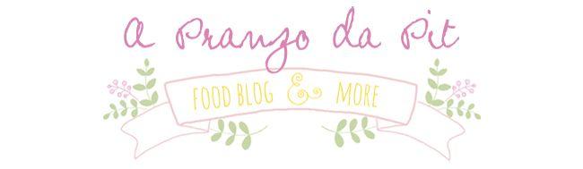 Progetto di Blog Design per 'A Pranzo da Pit' – Che Bontà