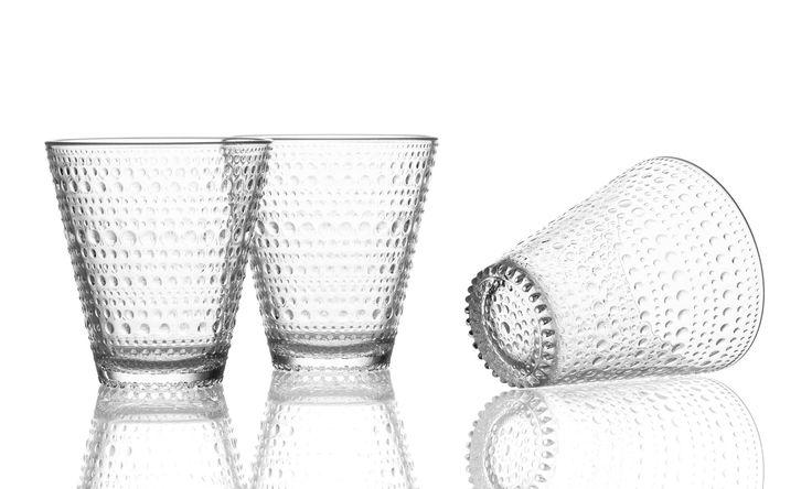 Kastehelmi bicchieri trasparente set da 2