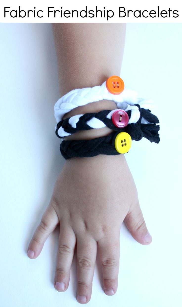 Fabric Friendship Bracelets Craft for Kids #DivaandFlea #ad