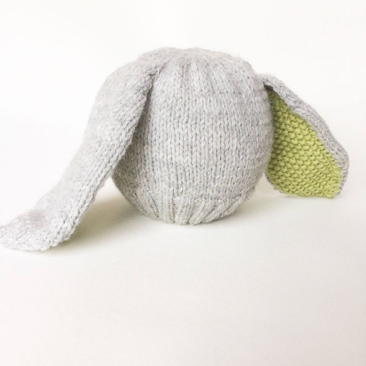 Excited to share the latest addition to my #etsy shop: Knitted baby rabbit hat, handknitted hat, knitted bonnet, baby gift, unusual baby hat, knitted baby clothes, cute baby hat, rabbit ears hat