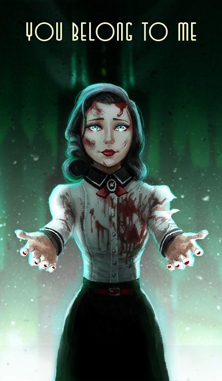 You belong to me by Shaidis on deviantART #Bioshock