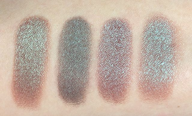 Left to right: KVD On The Road, MAC Club, Urban Decay Lounge, Wet'n'Wild Comfort Zone