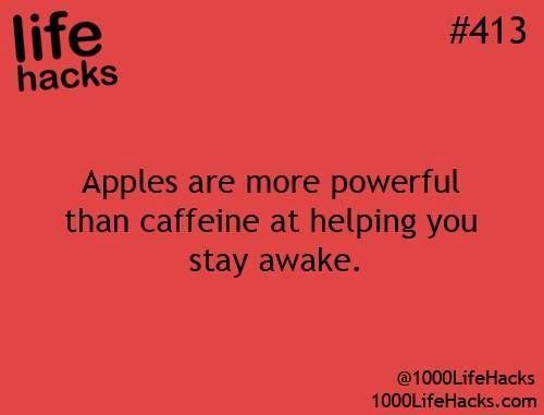 Need to stay awake eat an