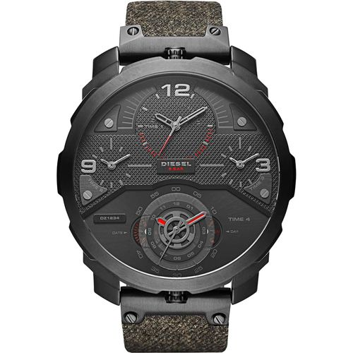 Diesel-Uhr DZ7358 aus der Serie Machinus für Herren.  Sie diese Uhr mit einer persönlichen Gravur, eine Widmung.