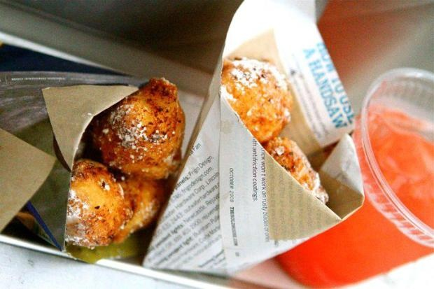 Lemon Ricotta Donuts from Go Streatery at Off the Grid - Picnic at the Presidio (San Francisco, CA) via Casual Details