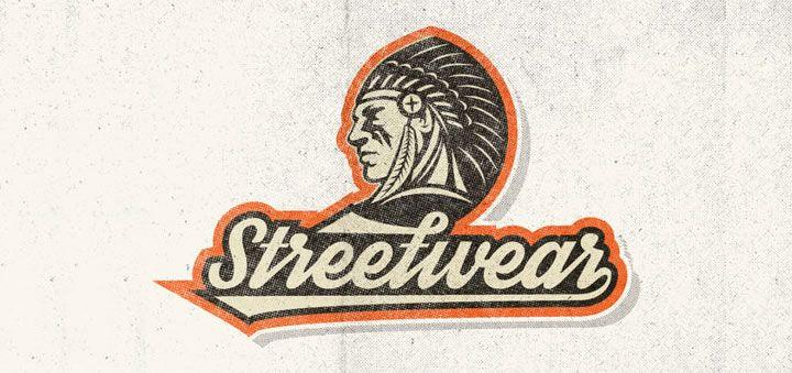 Streatwear to darmowy skrypt w stylu retro. Nie ma niestety polskich znaków, ale może się przydać do krótkich napisów, logo lub projektów koszulek