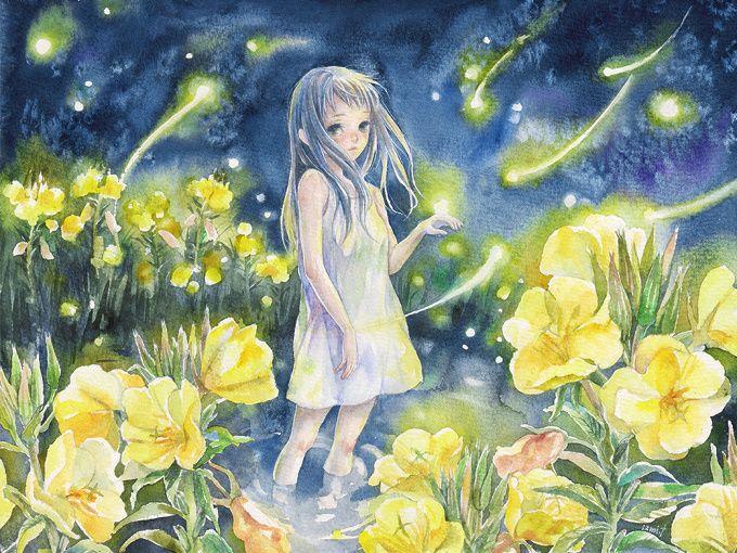 firefly by Izmi Toyoda
