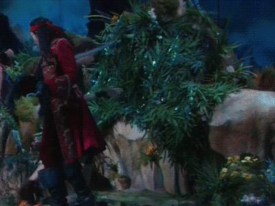 """When he did this to Peter's pan. 