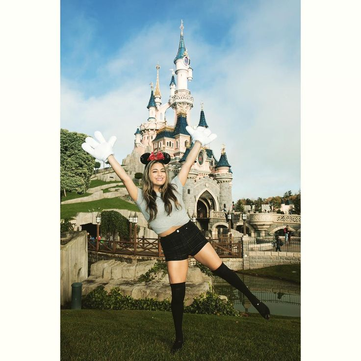 """""""2 of my favorite places - Disney & Paris  Thank you so much for a magical…"""