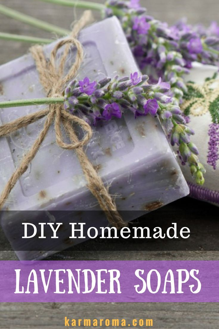 Learn How To Make Homemade Lavender Soaps -In this video, you will find all the ingredients and step by step instructions to make lovely, fragrant lavender soaps!
