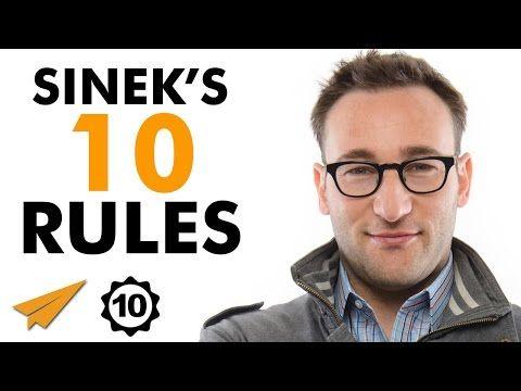 (4) Simon Sinek's Top 10 Rules For Success (@simonsinek) - YouTube
