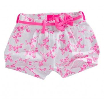 Z8 Baby - Shortje Saar fluor roze