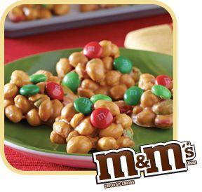 Holiday Magic Peanut Clusters