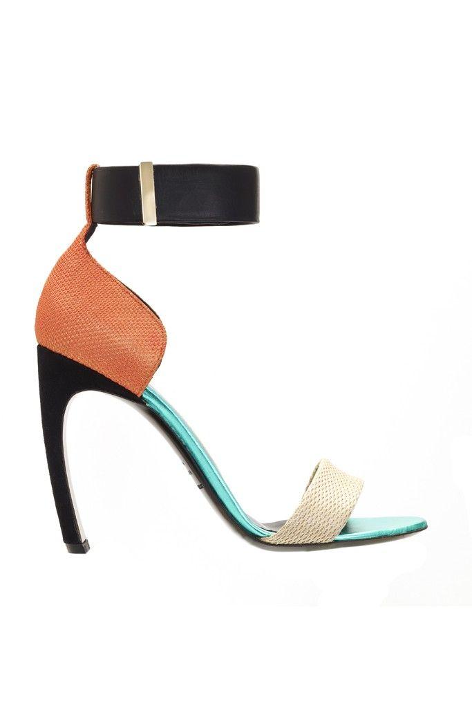 Nicholas Kirkwood Woman Lace-up Suede And Mesh Sandals Black Size 37 Nicholas Kirkwood 8RyRvl0w7i