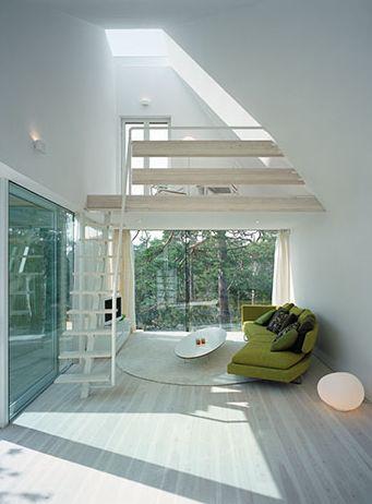 Scandinavian Retreat--- Loft---Light
