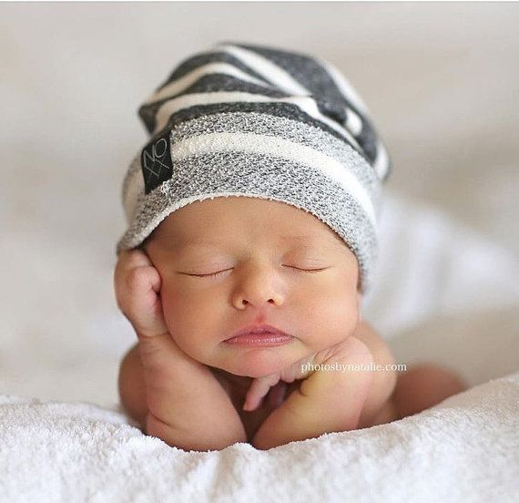Any Size Newborn-Adult / Signature Style Hipster Beanie by NOXXaz