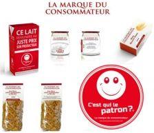 La Marque du Consommateur : une marque alimentaire iconoclaste et responsable pour retrouver le contrôle sur les prix et la qualité