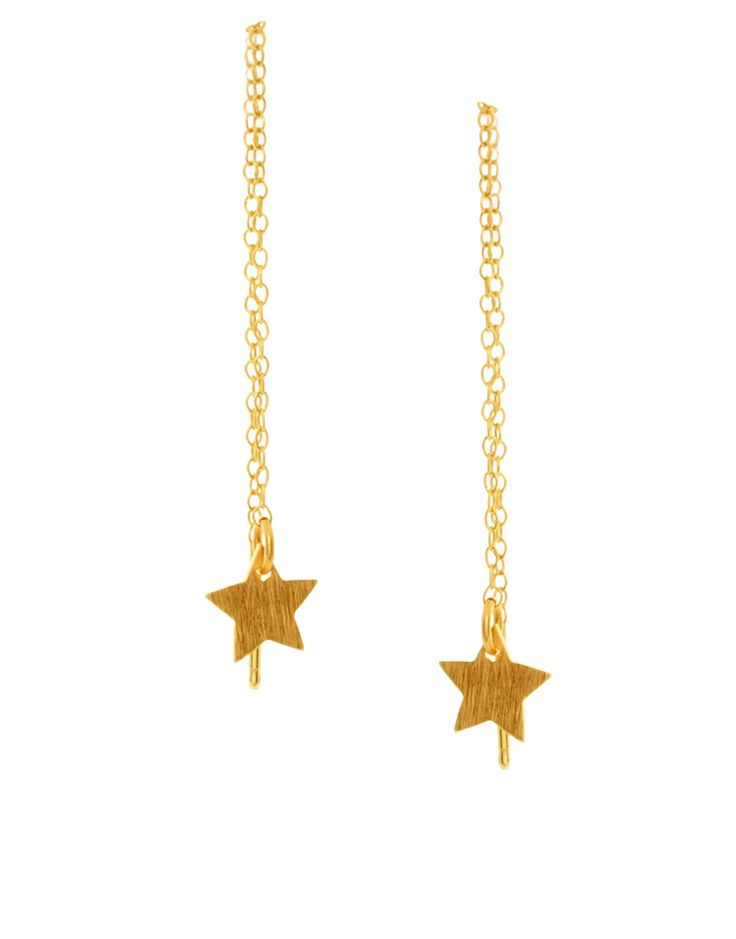 Pernille Corydon Star Chain Earring