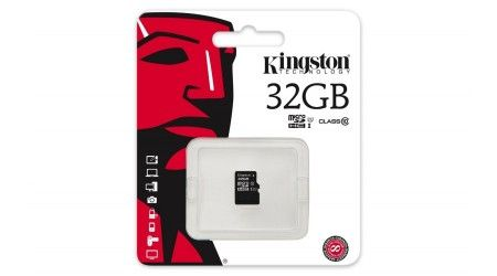 32GB Micro SDHC Kingston - class 10