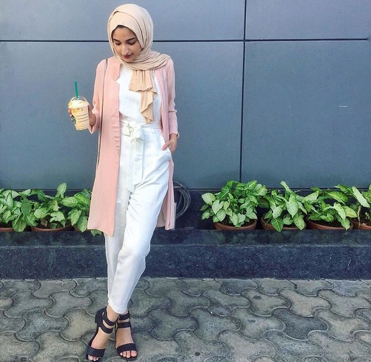 Hijab + White Jumpsuit (@filterfashion)