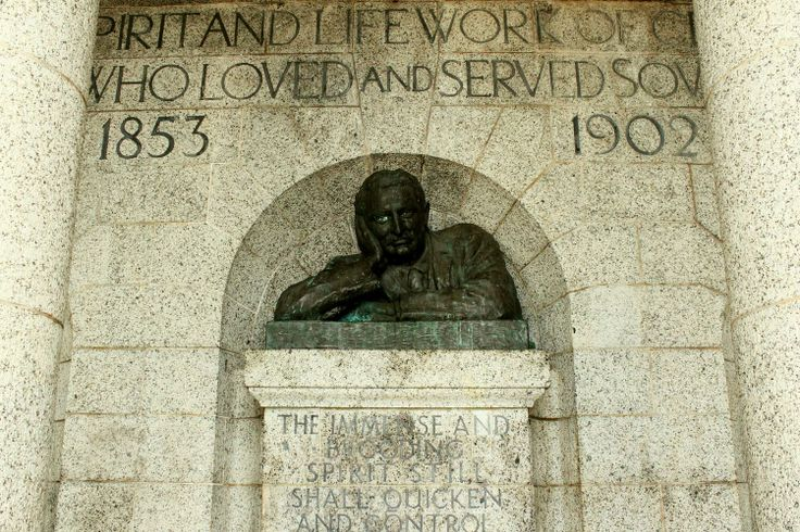 Cecil John Rhodes' mark on the Mother City - the majestic Rhodes Memorial.