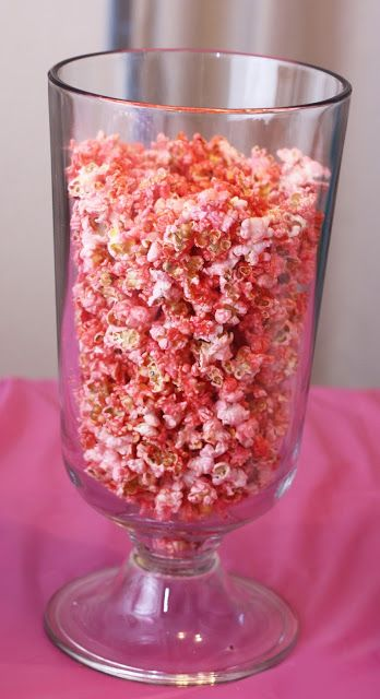 Crafty Allie: It's not a party without Pink Popcorn and Punch!
