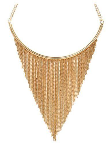 ToniQ Gold Fringe Necklace for Girls/Women(Gold) TONIQ http://www.amazon.in/dp/B013UTDI0G/ref=cm_sw_r_pi_dp_rGlawb0NZ19E7