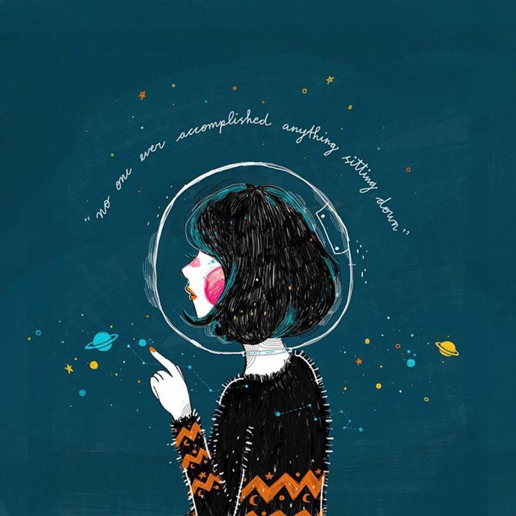 Kathrin Honesta es una ilustradora de originaria de Indonesia. Ella segraduó en Diseño gráfico e ilustración en Kuala Lumpur, Malaysia. Sus ilustraciones nos cuentan historias de personas con fe. Ella es creyente de Dios por lo cuáltiene un gran influencia en su trabajo. En su trabajo no importa únicamente que sea bonita, lo …