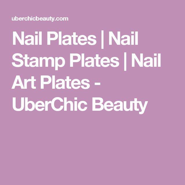 Nail Plates   Nail Stamp Plates   Nail Art Plates  - UberChic Beauty