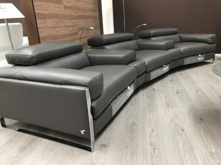 Cannes Home cinema seat sofa with power modules by Calia Italia | Furnimax Brands Outlet