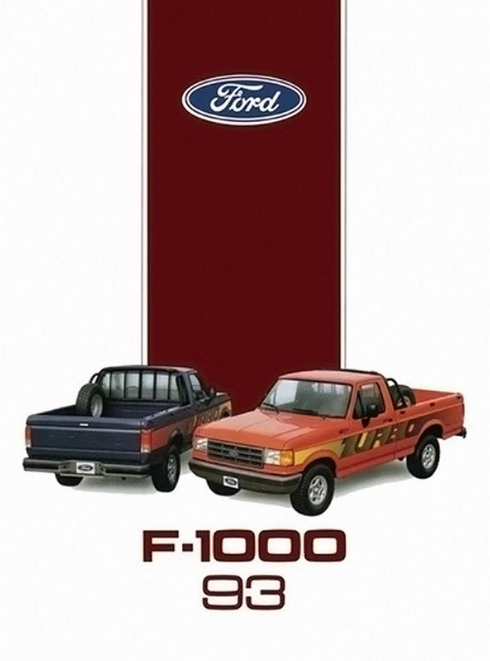 1993 Ford F-1000 - Brasil