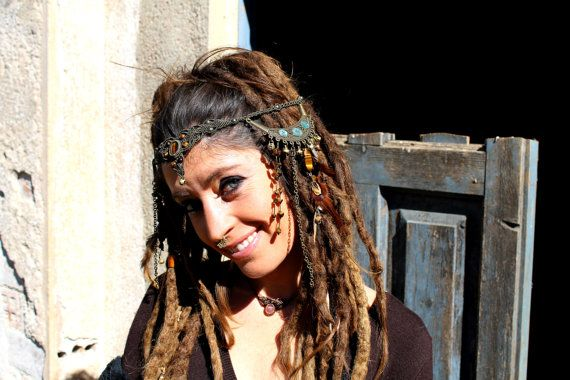 Mesmerizing Tribal Fusion Belly Dance Headdress by BelisaMag