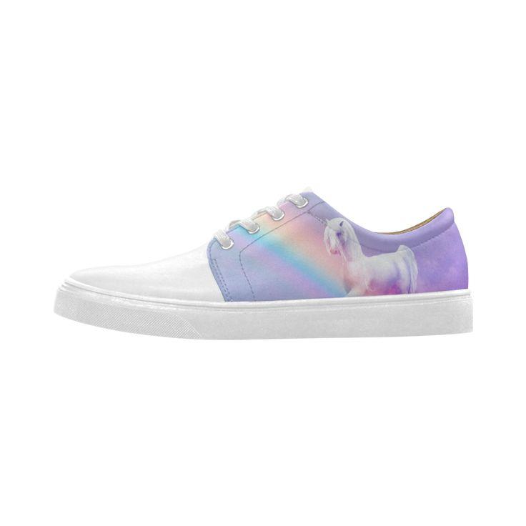 Unicorn and Rainbow Cygnus Pointed Toe Women's Shoes