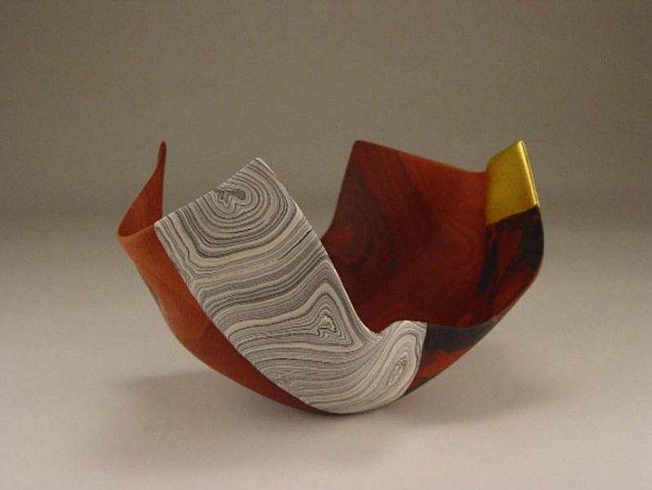 Thomas Hoadley, coupe de porcelaine réalisée en nériage