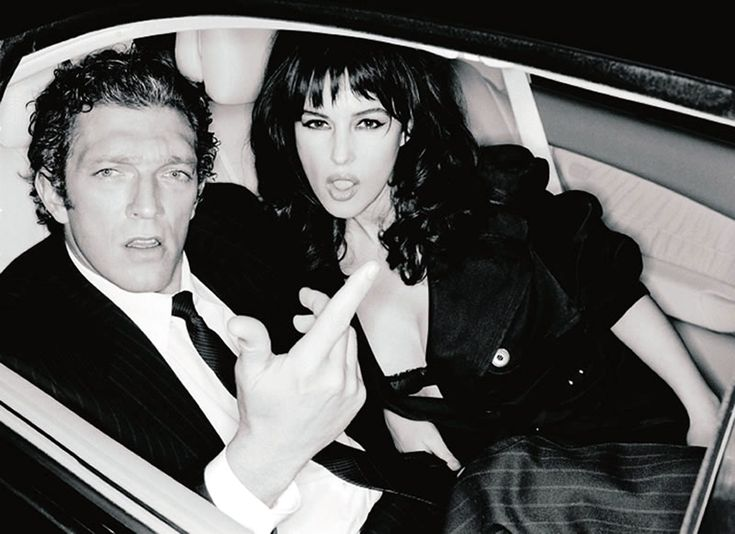 Monica Bellucci and Vincent Cassel > http://www.cosmopolitan.it/star/coppie-famose/news/a88098/monica-bellucci-e-vincent-cassel/