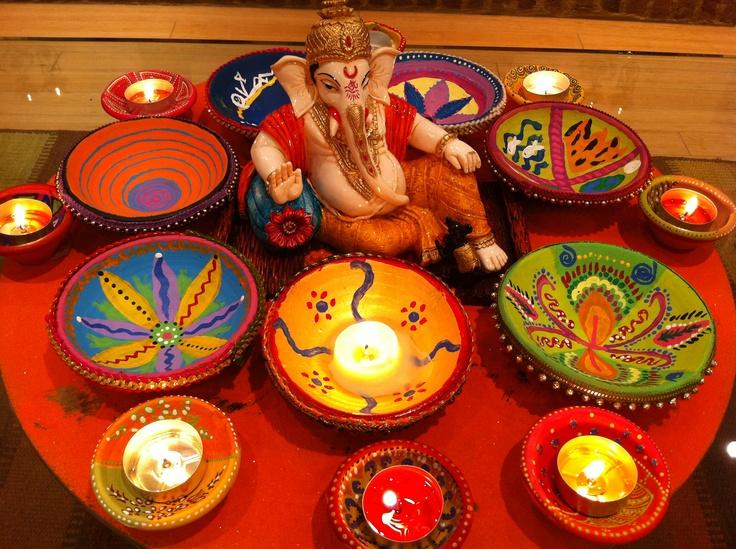 Hand painted Diwali diwas  Celebrations!!  Pinterest