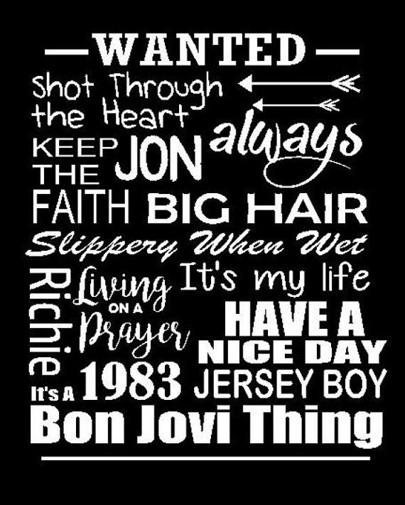 Jon Bon Jovi T Shirt Bon Jovi It S A Bon Jovi Thing Tee Shirt Music Tee Bonjovi Jon Bonjovi Jon Bon Jovi Bon Jovi Bon Jovi Song
