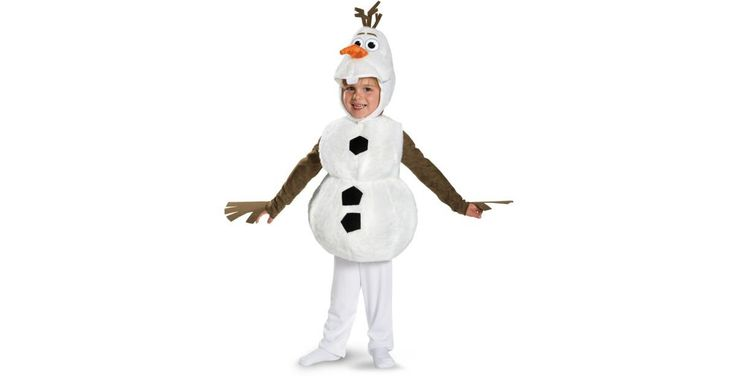 I found great Halloween Costumes on BuyCostumes.com. Frozen - Deluxe Olaf Infant / Toddler Costume, Click here to find more unique Costume ideas! Life's better in costume.