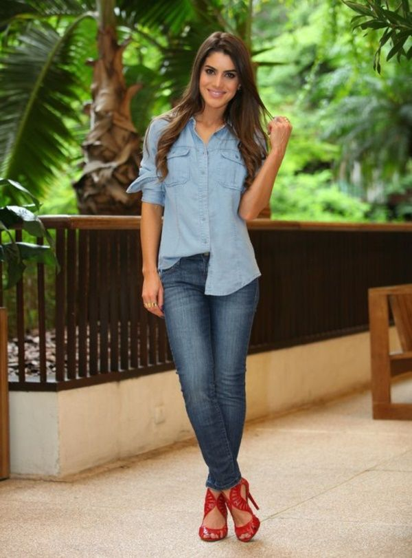 Ultimate Ways To Wear A Shirt With Jeans0221