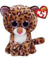 Ty Glubschi Beanie Boo´s peluche léopard Patches 15 cm 37177