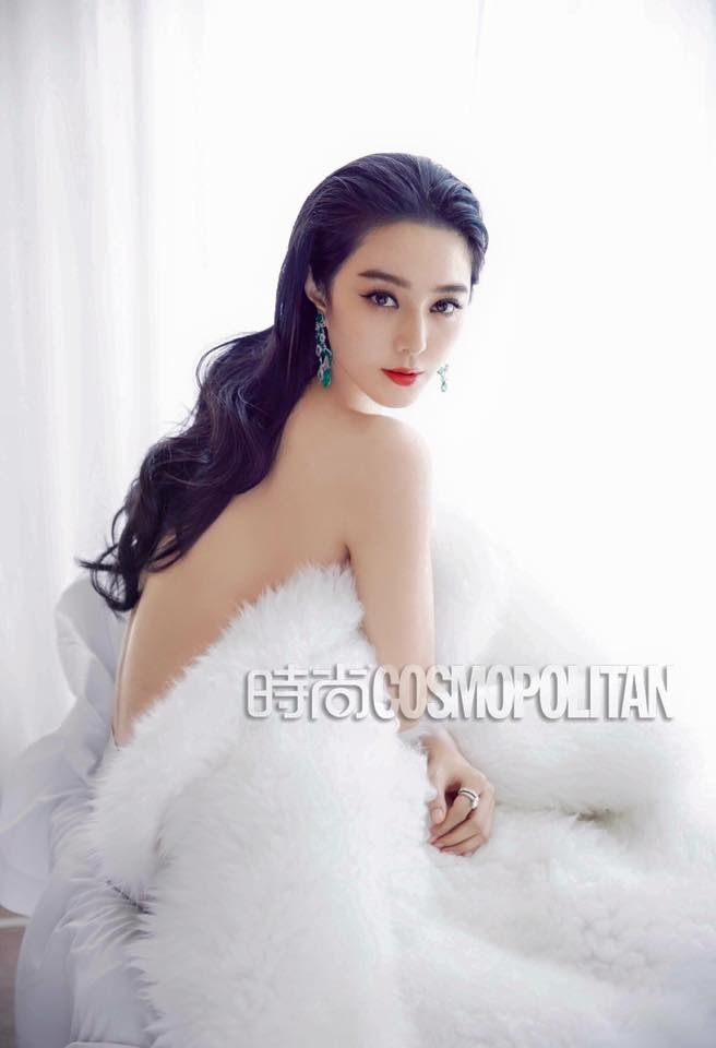 Fan Bingbing by Chen Man for Cosmopolitan China August 2015 22ed Anniversary Issue - Louis Vuitton