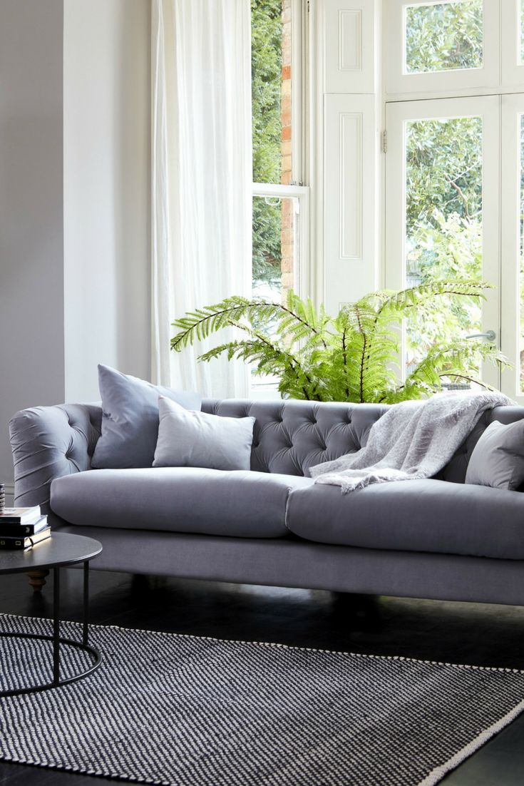 Sumptuous Design Ideas English Style Sofa. The chesterfield sofa has never looked this good  We adore sumptuous luxurious grey velvet from British experts Darlings of 64 best Statement Chairs images on Pinterest Chelsea FC Colours