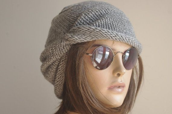 Womens Hats winter hat turban Slouchy Hat gift Chemo by yagmurhat
