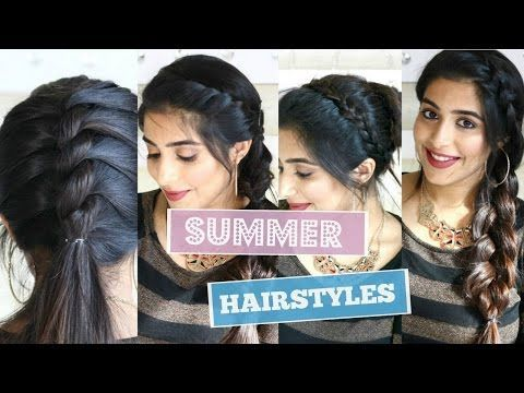 How to- Side Puff With Trick And Ponytail Hairstyle | Easy Side Puff For Medium/Long Hair - YouTube