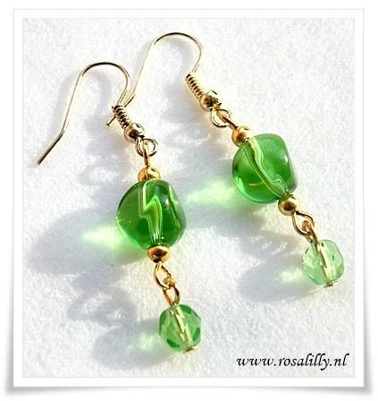 #emerald #bruidsoorbellen #emerland #wedding #earrings