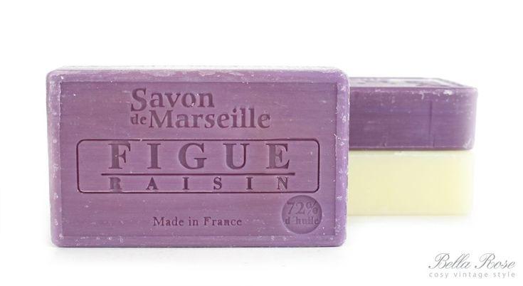 Mýdlo Marseille 100 g - fíky a hrozny | Bella Rose