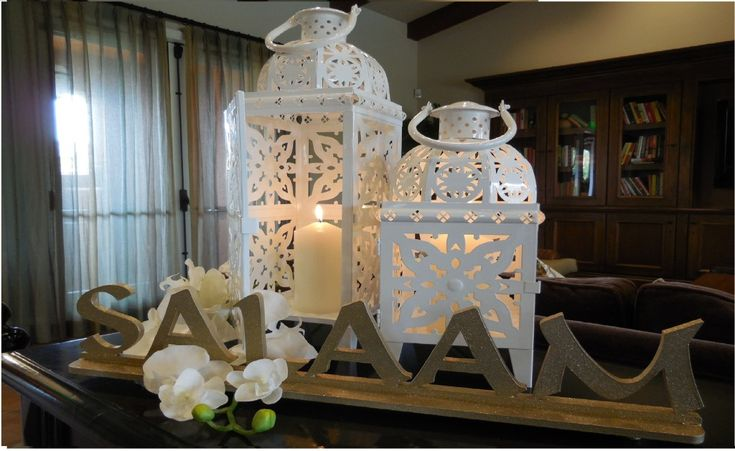 94 best images about islamic home decor ideas on pinterest for Eid decorations to make at home