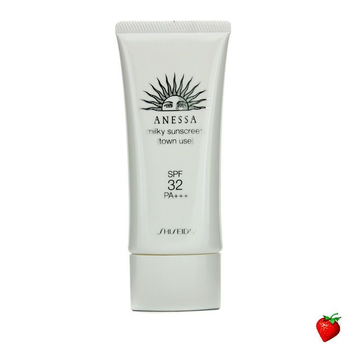 Shiseido Anessa Town Use Milky Sunscreen SPF 32 PA+++ 60g/2oz #SummerSpecials #Beach #SPF #HotPick #FREEShipping #StrawberryNET #SunProtection #Shiseido #Women'sSkincare